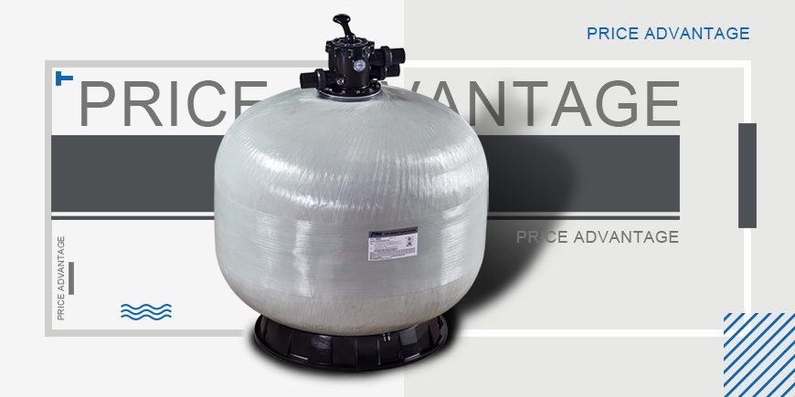 Top Mount Pool Sand Filter