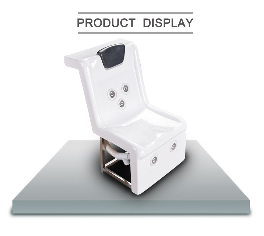 acrylic massage chair