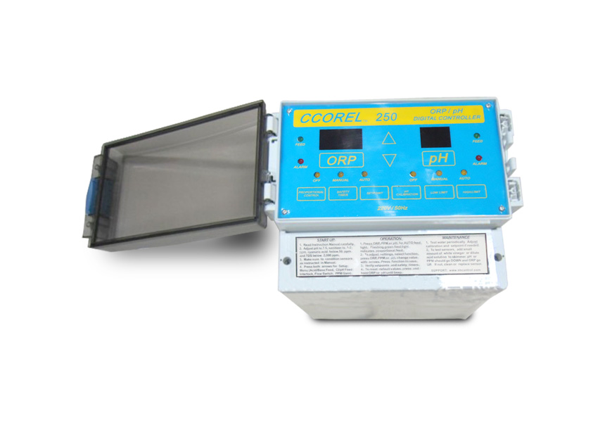 pool controller with dosing pump