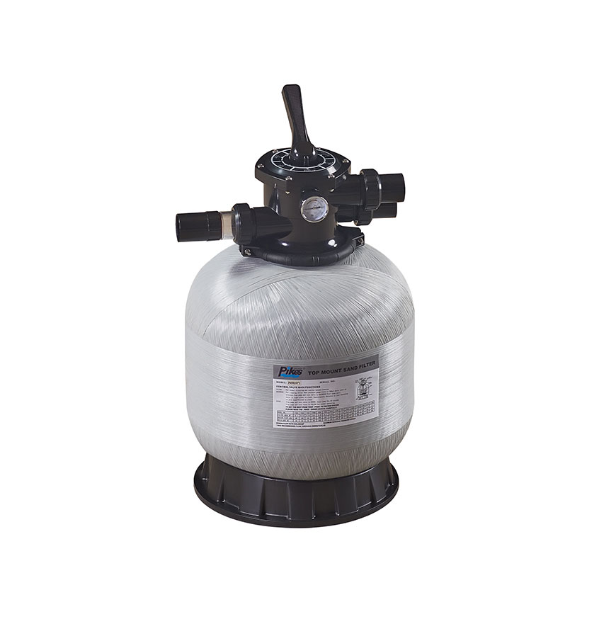China Supplier Top Mount Swimming Pool Sand Filter Fiberglass Filter For Sale