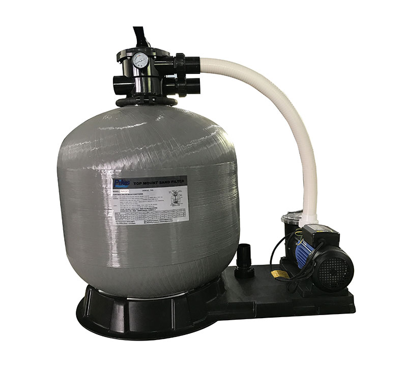 sand filter with pump combo