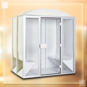 acrylic steam room