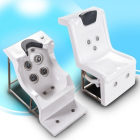 swimming pool massage chair