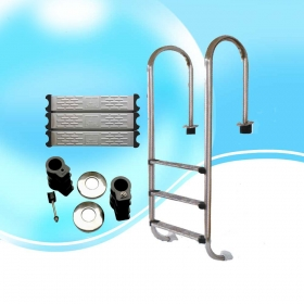 Swimming Pool Stainless Steel Step Ladder