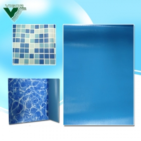 Swimming pool pvc liners