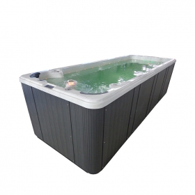 Acrylic hydro swim spa supplier